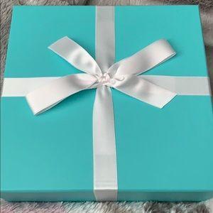 Tiffany Co gift set box empty